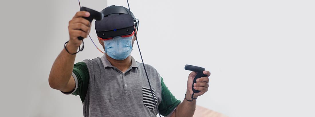 Realidad Virtual Entrenamiento en Alturas